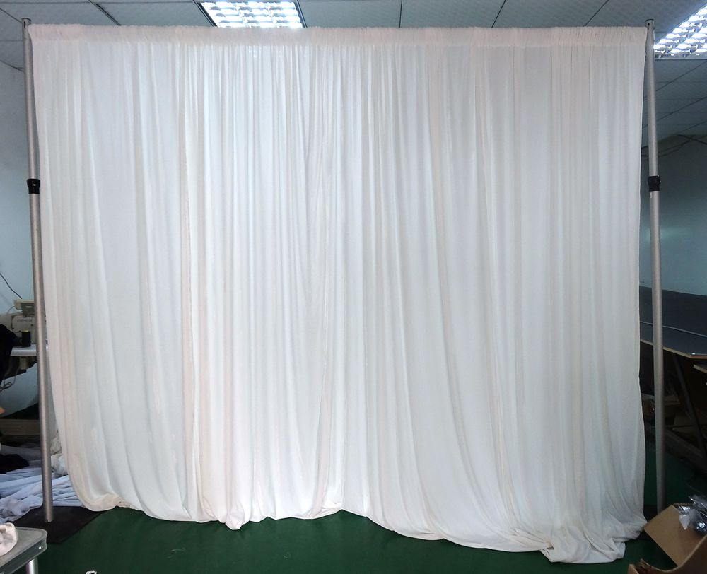 Portable Pipe And Drape Wedding Backdrop Curtain Stand
