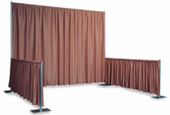 Exhibition Booths Pipe And Drape Wholesale Wedding Backdrop Curtain Rod