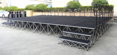 Easy, Affordable, Modular Portable Staging Systems