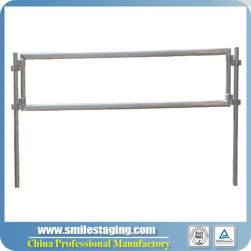 8ft(2.44m) Guard Rail For Aluminum Stage Systems