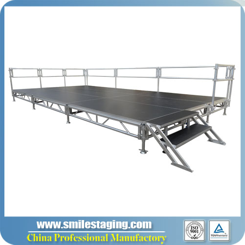 <strong>12ft x 24ft Aluminum Stage System</strong>