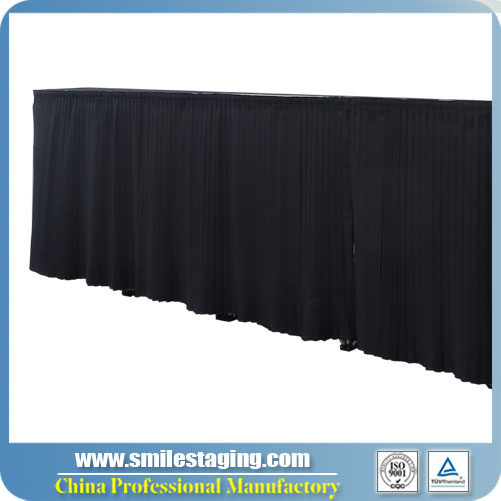 4ft x 40''(W X H)Skirt For Staging