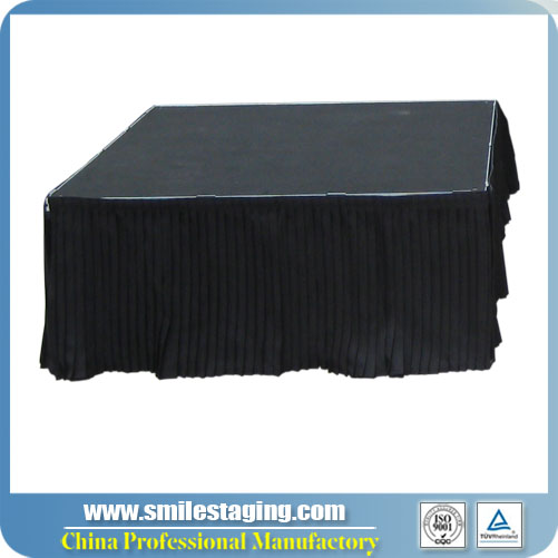4ft x 32''(W X H)Skirt For Portable Stage