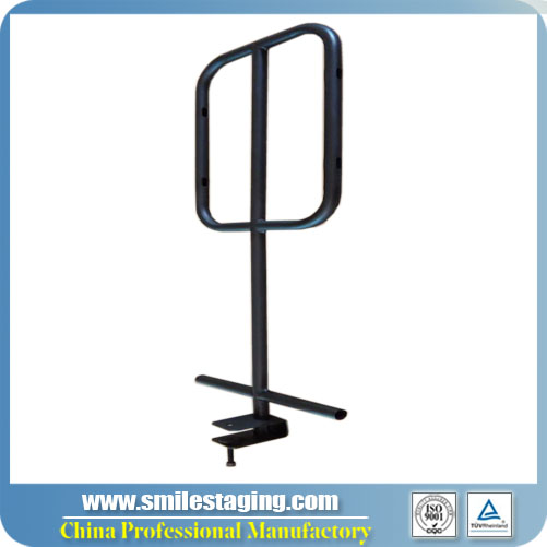 Portable Stage Guard Rails For Step Platform