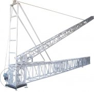 Staging lighting lift tower truss